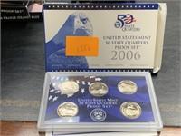 2006 QUARTERS US MINT PROOF COIN SET