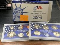 2004 US MINT PROOF COIN SET