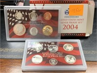 2004 SILVER US MINT PROOF COIN SET