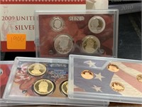2009 SILVER US MINT PROOF COIN SET