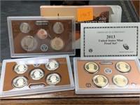 2013 US MINT PROOF COIN SET