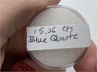 15.36 CTS BLUE QUARTZ GEMSTONE