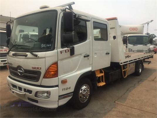 2017 Hino FD1124 - Trucks for Sale