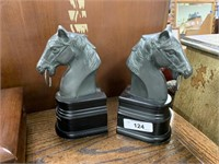 FIGURAL HORSE BOOKENDS