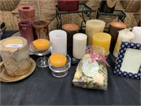 LARGE LOT OF CANDLES