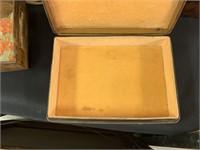 LEATHER ITALIAN MADE JEWELRY BOX