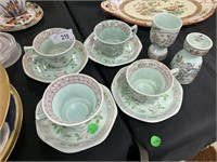 LOT OF MISC VTG ADAMS CUPS SAUCERS EGG CUPS