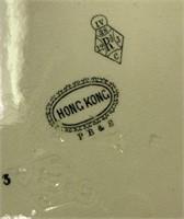 ANTIQUE PB&S ENGLISH / HONG KONG SERVING TRAY