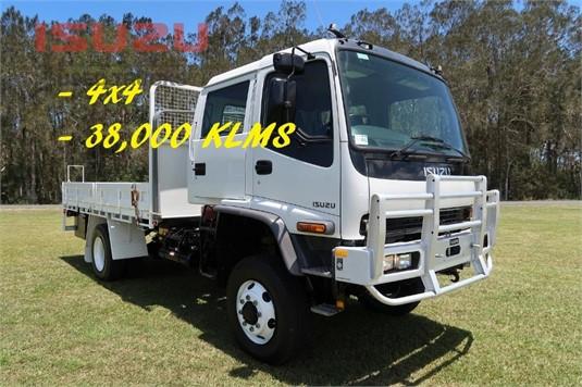2007 Isuzu FTS 750 4x4 Dual Cab Used Isuzu Trucks - Trucks for Sale