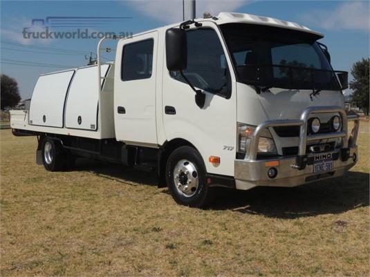 2014 Hino 300 Series 717 Crew Japanese Trucks Australia - Trucks for Sale