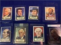 (12)  1952 Look 'N See Trading Cards
