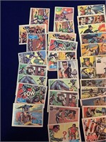 (60) 1966 Topps Batman and Robin Trading Cards