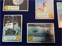 (8) Man On The Moon Trading Cards