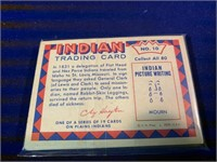 Pack of Indian Trading Cards