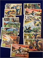Assortment of Western Trading Cards
