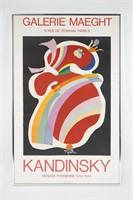 Kandinsky Galerie Maeght Exhibition Poster