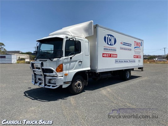 2005 Hino FD 1026 Long Carroll Truck Sales Queensland - Trucks for Sale