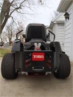 """New zero radius Toro MX6050 with 60"""" deck"""