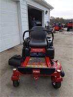 New zero radius Toro Timecutter SS4225 with 42""