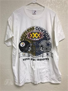 a few days away special sales popular stores 1995 SUPER BOWL XXX COWBOYS STEELERS T-SHIRT XL Other Items For ...