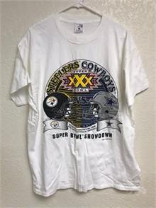 1995 SUPER BOWL XXX COWBOYS STEELERS T SHIRT XL Other Items