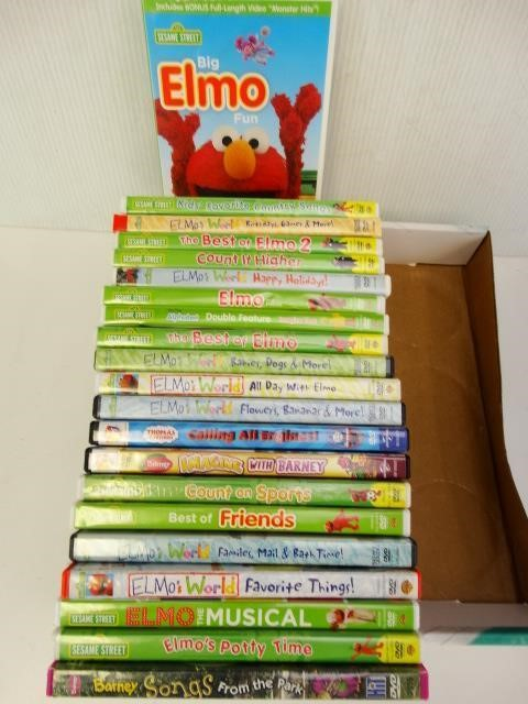 Sesame Street Dvd Collection Featuring Elmo Ll Auctions Llc