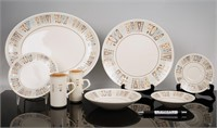 "Lot of Taylorstone ""Moderne"" Atomic Dishes"