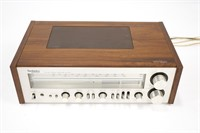 ULTRX Turntable and Technics Amplifier