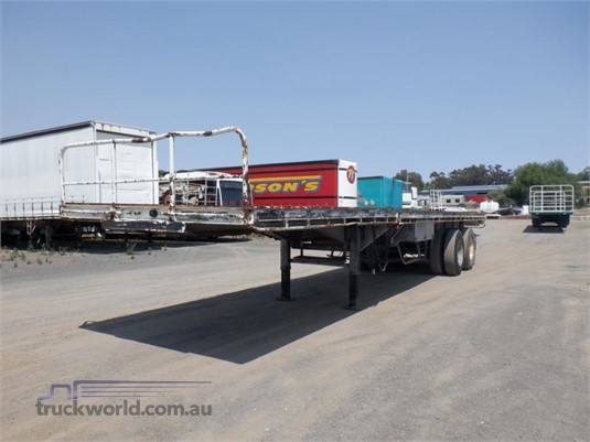 1967 Fruehauf Flat Top Trailer - Trailers for Sale