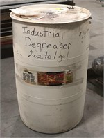 55 gallon drum of Spitfire Power Clearner