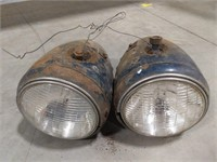 Sealed beam teardrop headlamps