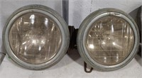 Vintage laboratory lens headlamps