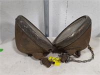 Vintage Twilight Chevrolet headlamp