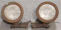 Vintage Tilt Ray headlamp