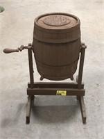 Antique Boss &  Acme Bail Churns Barrel Churn