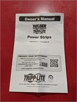 NIB Waber Tripp Lite Power Strip model # 3SP9