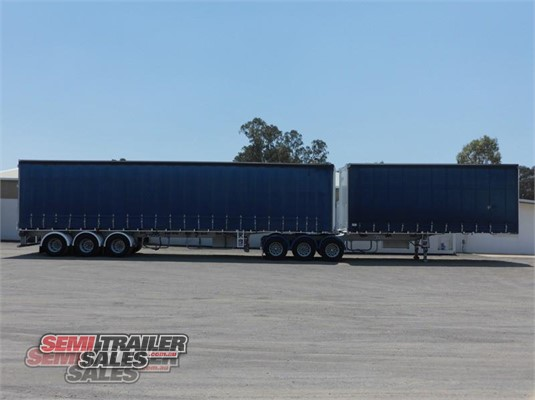 Maxitrans Curtainsider Trailer Semi Trailer Sales  - Trailers for Sale