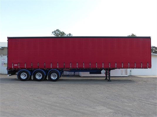 2007 Barker Curtainsider Trailer - Trailers for Sale