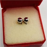 Silver  Earrings (151 - JP415)   (D3)