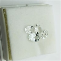 Genuine White Topaz(4ct) (180 - JP415)   (D3)