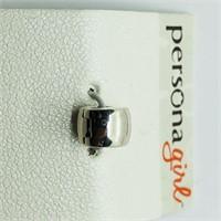Silver Persona Bead  Pendant (181 - JP415)   (D3)