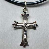 Silver Cross Pendant Pendant (187 - JP415)   (D3)