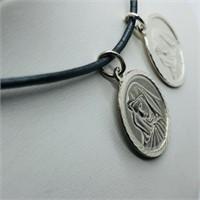 Silver W/ Chord Pendant (194 - JP415)   (D3)