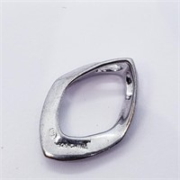 Silver 4 Diamond (1.99G)  Pendant (209 - JT79)