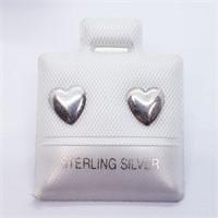 Heart Shaped  Earrings (211 - JT79)   (D2)