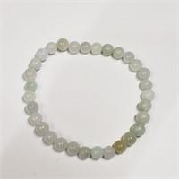 Jade Bead Strechable  Bracelet (217 - JT79)