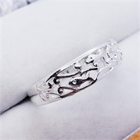 Silver  Ring (218 - JT79)   (D2)