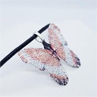 Butterfly Pendant  Necklace (250 - JT79)   (D2)
