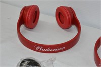 (2) Budweiser Headphones