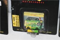 (3) John Deere Die Cast Stock Cars Scale 1/144